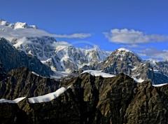 Mountain Snow Peaks Alaska