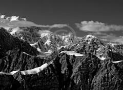 Mountain ridge Alaska