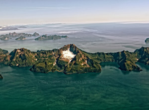 Islands off Prince William Sound Alaska