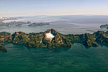Islands off Prince William Sound Alaska