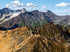 Mountains near Mount Denali