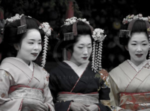 Geishas of Kyoto