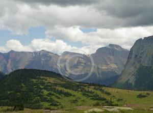 Logan Pass Glacier Park Montana