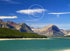 Lake Sherburne Many Glacier Montana
