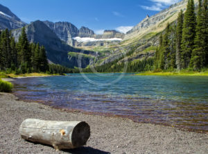 Grinnell Lake Glacier Park Montana