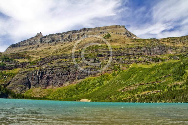 Grinnell Lake Glacier Park Montana