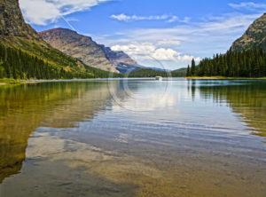 Lake Josephine Many Glaciers Montana