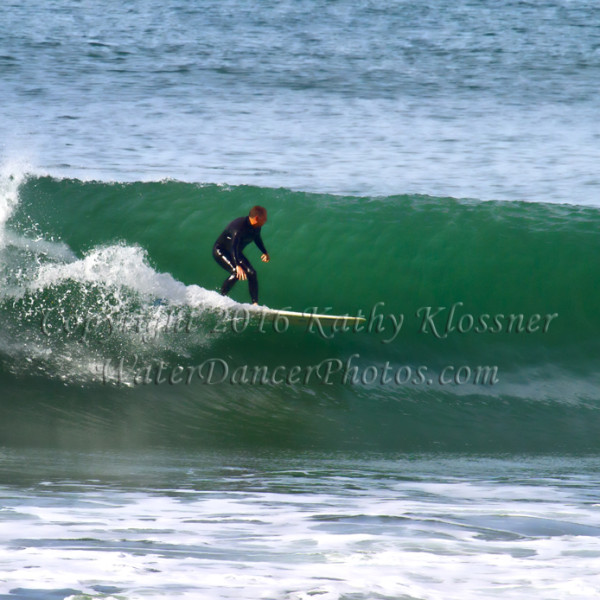 Surfing the wave line