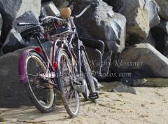 Bikes at the beach