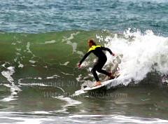 Young Blonde Surfer Boy